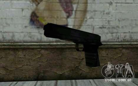 Pistol from Cutscene para GTA San Andreas