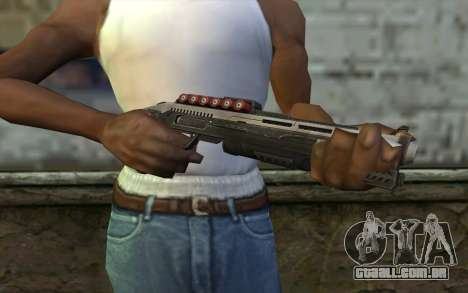 Shotgun from Deadpool para GTA San Andreas terceira tela