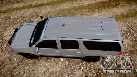 Chevrolet Suburban [ELS] Rims2 para GTA 4 vista direita