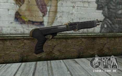 Espingarda de Meia - Vida Paranóia para GTA San Andreas segunda tela