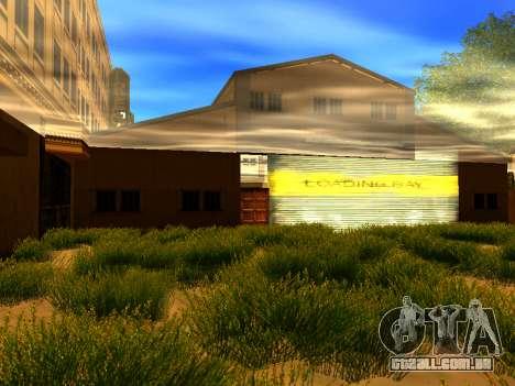 Relax City para GTA San Andreas quinto tela