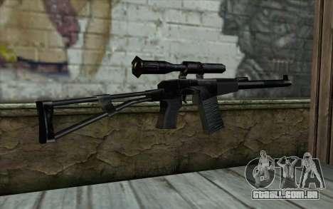 ВАЛ a partir de Meia - Vida Paranóia para GTA San Andreas segunda tela