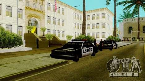 Um novo transporte em LSPD e o seu renascimento para GTA San Andreas