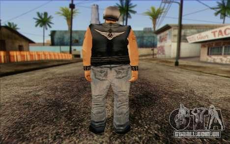 Biker from GTA Vice City Skin 2 para GTA San Andreas segunda tela