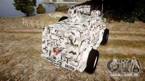 GAZ-3937 Vodnik para GTA 4 traseira esquerda vista
