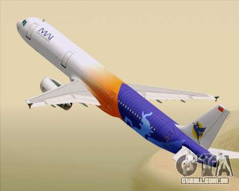 Airbus A321-200 Myanmar Airways International para GTA San Andreas