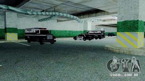 Veículos novos em SFPD para GTA San Andreas sexta tela
