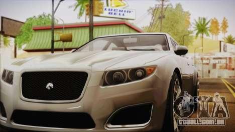 Lampadati Felon (IVF) para GTA San Andreas traseira esquerda vista