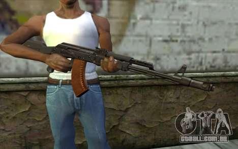 A AK-103 para GTA San Andreas terceira tela