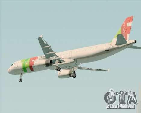 Airbus A321-200 TAP Portugal para o motor de GTA San Andreas