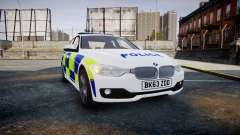 BMW 335i 2013 Central Motorway Police [ELS] para GTA 4