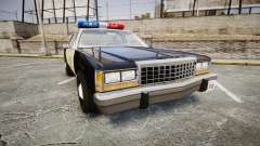 Ford LTD Crown Victoria 1987 LAPD [ELS] para GTA 4