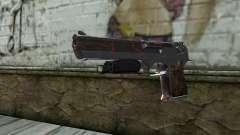 Silver Desert Eagle para GTA San Andreas
