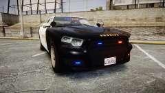 GTA V Bravado Buffalo LS Sheriff Black [ELS] Sli