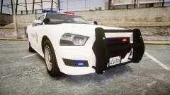 GTA V Bravado Buffalo LS Sheriff White [ELS]