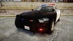 GTA V Bravado Buffalo LS Sheriff Black [ELS]