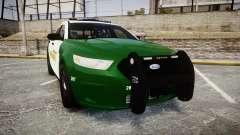 Ford Taurus 2014 Liberty City Sheriff [ELS] para GTA 4