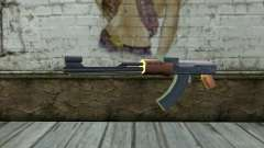 AK47 from Beta Version para GTA San Andreas