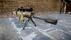 Rifle Mk 17 SCAR-H bipé
