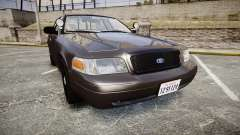 Ford Crown Victoria LASD [ELS] Unmarked para GTA 4