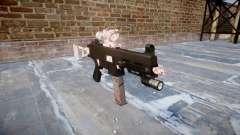 Arma UMP45 flor de Cerejeira