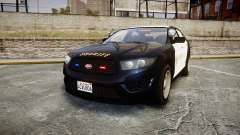 GTA V Vapid Interceptor LSS Black [ELS] Slicktop