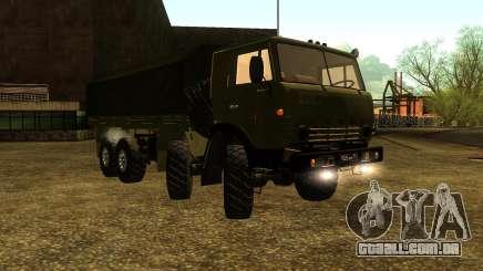 A KamAZ-6350 para GTA San Andreas