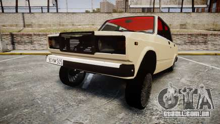 VAZ-2107 Azerbaijani velho estilo para GTA 4