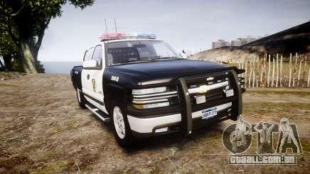 Chevrolet Silverado SWAT [ELS] para GTA 4