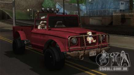 Canis Bodhi V1.0 Rusty para GTA San Andreas