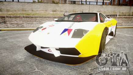 Lamborghini Murcielago GT1 Hanayo Koizumi para GTA 4