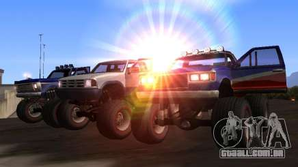 Novas texturas Monstro para GTA San Andreas para GTA San Andreas
