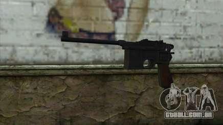 Mauser C96 v2 para GTA San Andreas