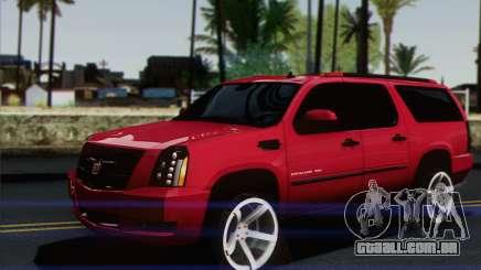 Cadillac Escalade ESV para GTA San Andreas