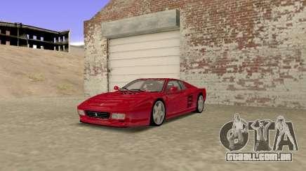Ferrari 512TR para GTA San Andreas