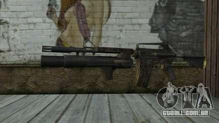 CAR-15 with XM-148 from Battlefield: Vietnam para GTA San Andreas
