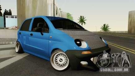 Daewoo Matiz Tuned para GTA San Andreas