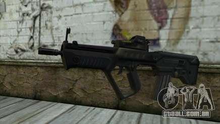 TAR-21 Bump Mapping v4 para GTA San Andreas