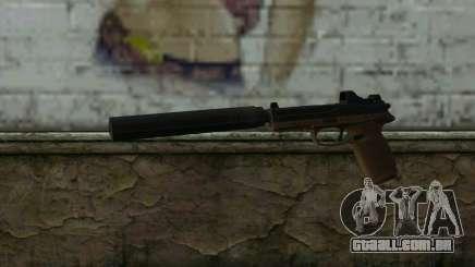 FN FNP-45 Com Silenciador e Mira para GTA San Andreas
