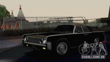 Lincoln Continental Sedan (53А) 1962 para GTA San Andreas
