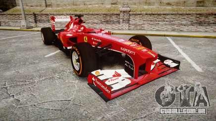 Ferrari F138 v2.0 [RIV] Alonso THD para GTA 4