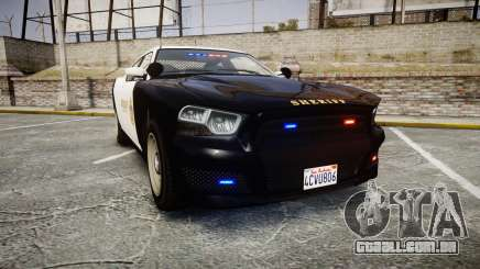 GTA V Bravado Buffalo LS Sheriff Black [ELS] Sli para GTA 4