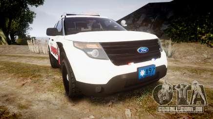 Ford Explorer 2013 LC Sheriff [ELS] para GTA 4