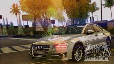 Audi A7 limousine para GTA San Andreas