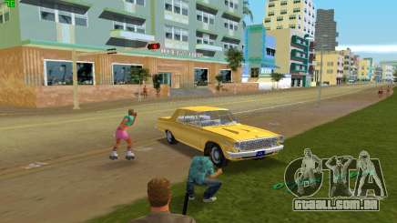 Dodge 330 Max Wedge Ramcharger 1963 para GTA Vice City