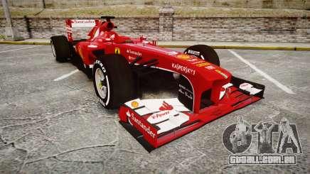 Ferrari F138 v2.0 [RIV] Alonso TMD para GTA 4