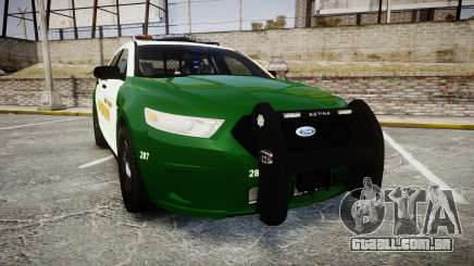 Ford Taurus 2014 Liberty City Sheriff [ELS] para GTA 4