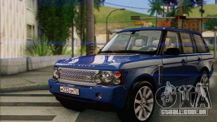Range Rover Supercharged para GTA San Andreas