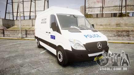 Mercedes-Benz Sprinter 311 cdi London Police para GTA 4