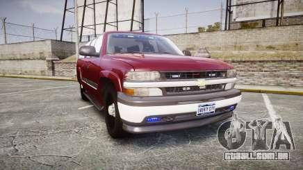 Chevrolet Suburban Undercover 2003 Black Rims para GTA 4